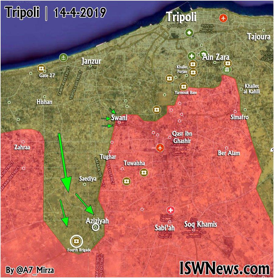 Pro-GNA Síl zostrelený MiG-21 Z Líbyjskej Národnej Armády v Blízkosti Tripolisu (Fotografie, Videá, Mapy)
