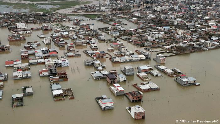 Floods In Iran Claim 76 Lives, Cause $2 Billion In Damages, International Aid Hampered By US Sanctions