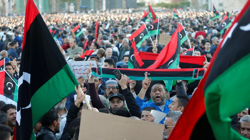 Libyan National Army Moves Closer To Tripoli Amid Protests In City