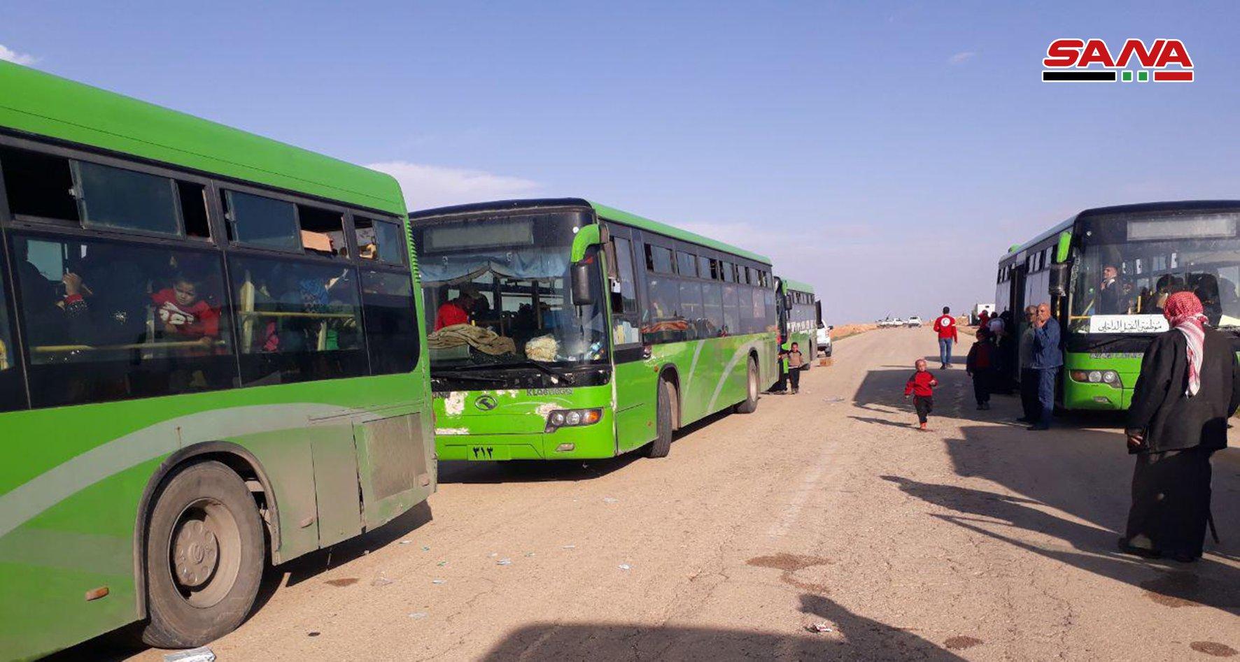 Hundreds Of Civilians Evacuated From Al-Rukban Camp Near Al-Tanaf – Photos