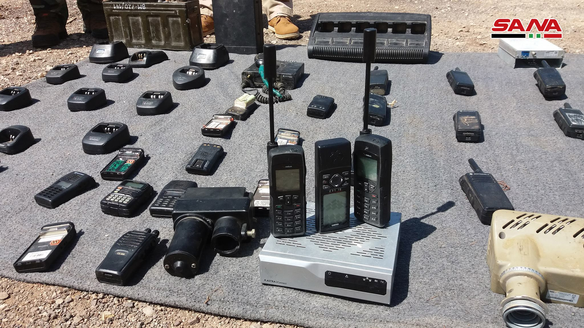 Syrian Army Uncovers Weapons, Advanced Communication Systems In Quneitra (Video, Photos)