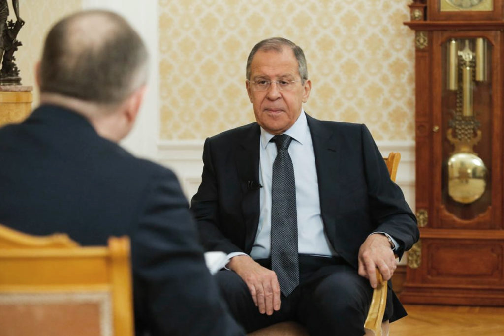 Russian Foreign Minister's Interview with the daily Moskovsky Komsomolets (April 3, 2019)
