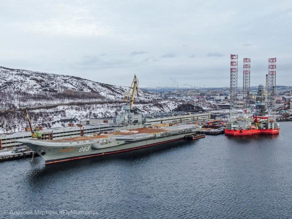 In Photos: Current State Of Admiral Kuznetsov Heavy Aircraft Carrying Missile Cruiser