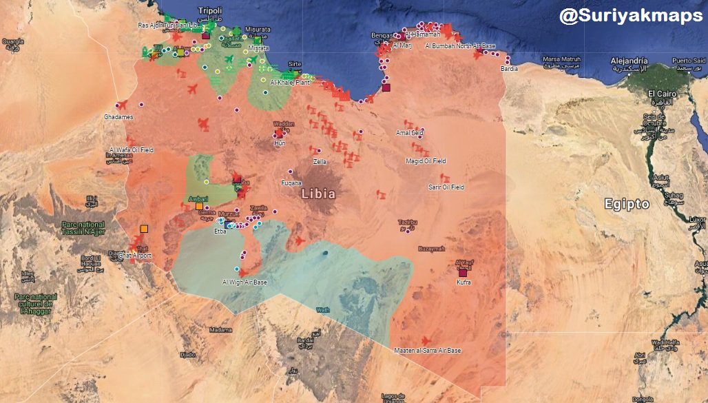 """Libyan National Army Moves Towards Tripoli To Clear It From """"Terrorists"""" (Video)"""