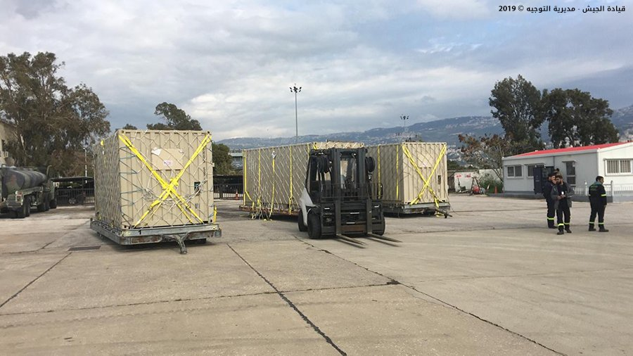 U.S. Delivers Several UAV Systems To Lebanese Army (Photos)