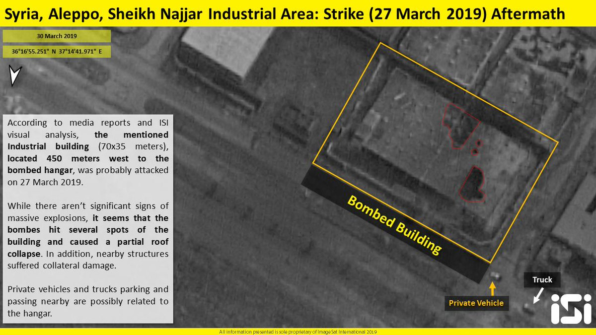 New Satellite Photos Reveal Additional Details Regarding Recent Israeli Airstrike On Aleppo