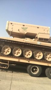 Russia Delivers TOS-1A Thermobaric Rocket Launchers To Saudi Arabia (Photos)