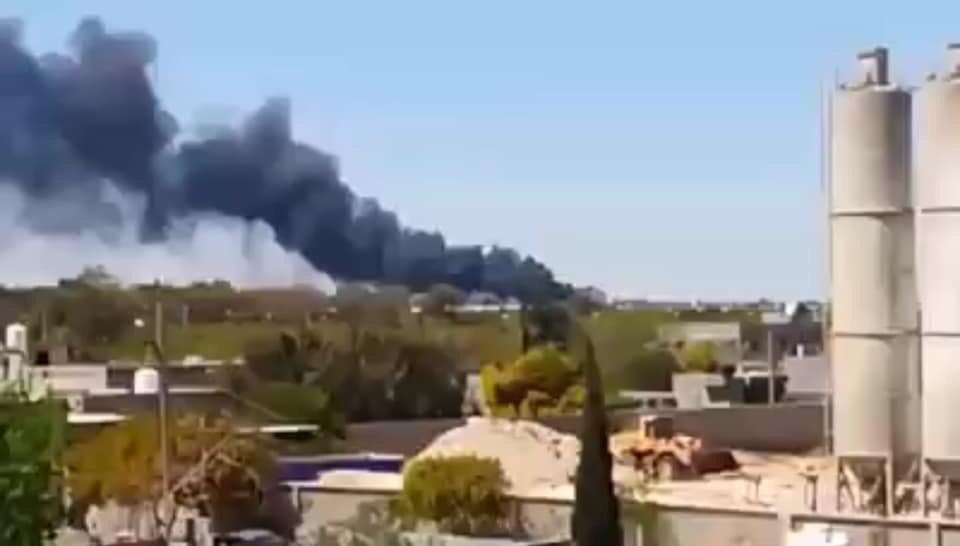 Libyan Air Force Strikes GNA's Ammo Depots Near Tripoli (Photos)