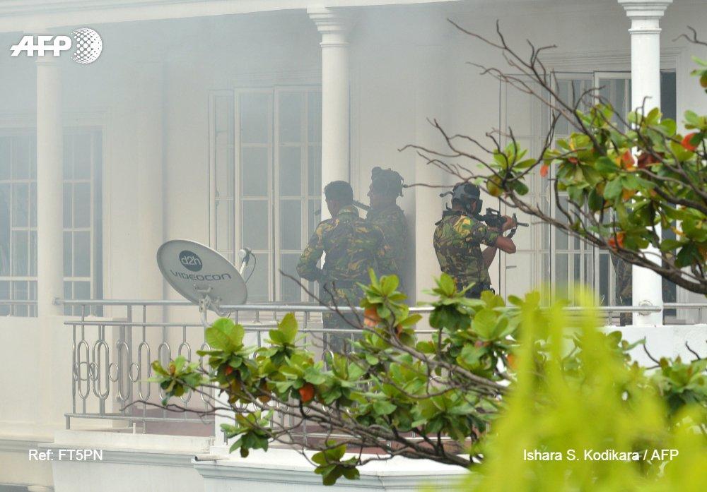 Seven Suspects In Sri Lanka Terrorist Attacks Arrested