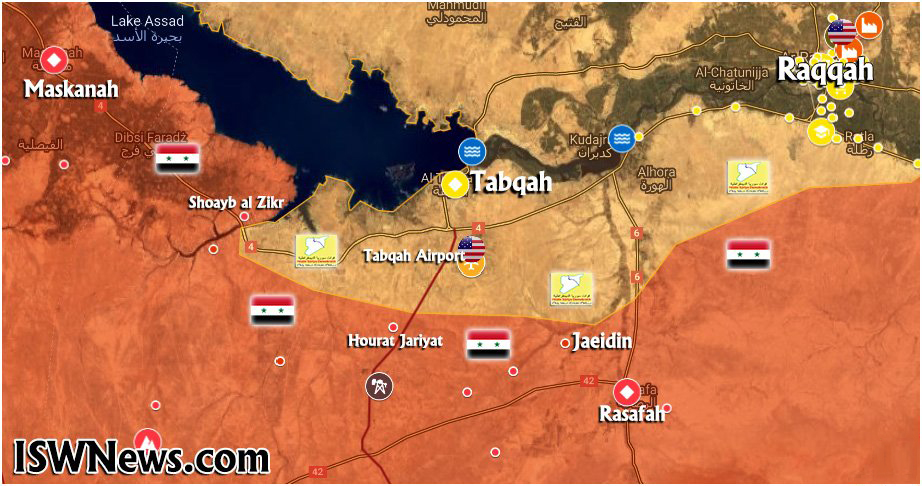 Pro-Government Sources Claim Syrian Army Advanced South Of Tabqah. Here's What Really Happened (Map)