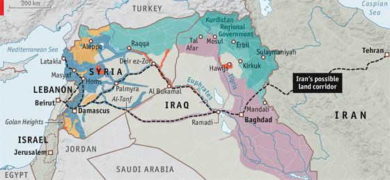 US and Israel Nightmare Scenario: Iraq, Syria, Iran Restart Their Strategic Cooperation Projects