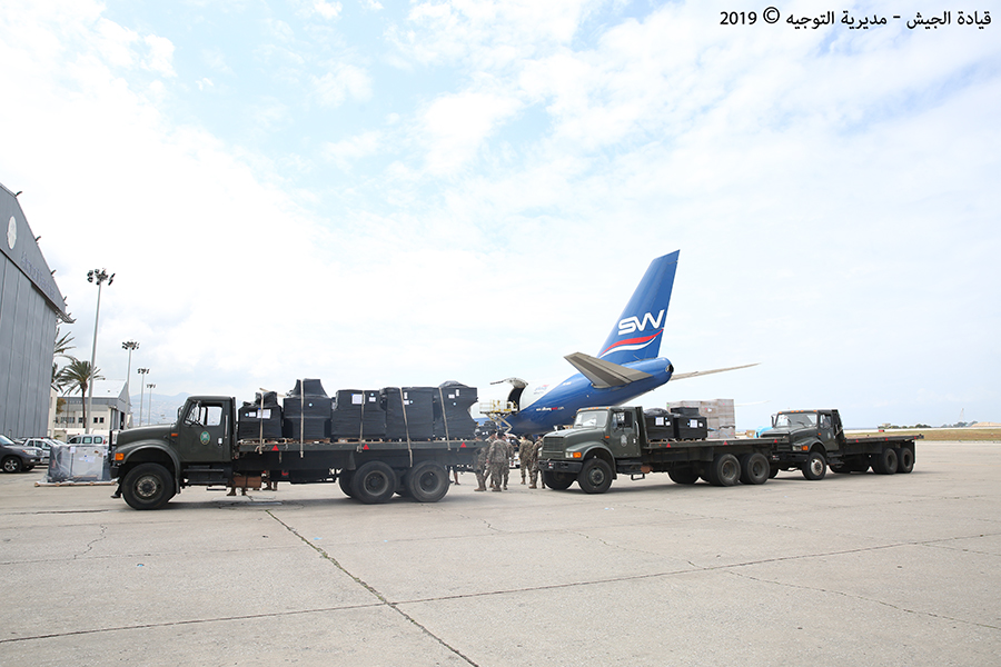 U.S. Supplies $14 Million Worth Of Military Equipment To Lebanese Army (Photos)