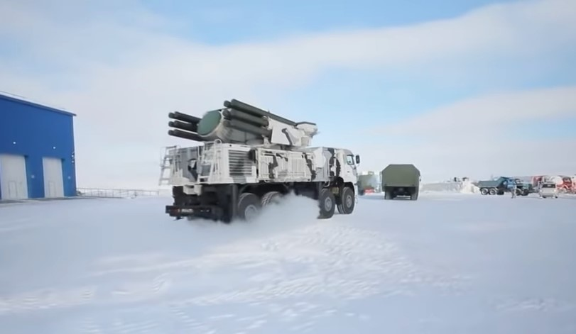 In Video: Northern Clove - Russian Military Base In Arctic