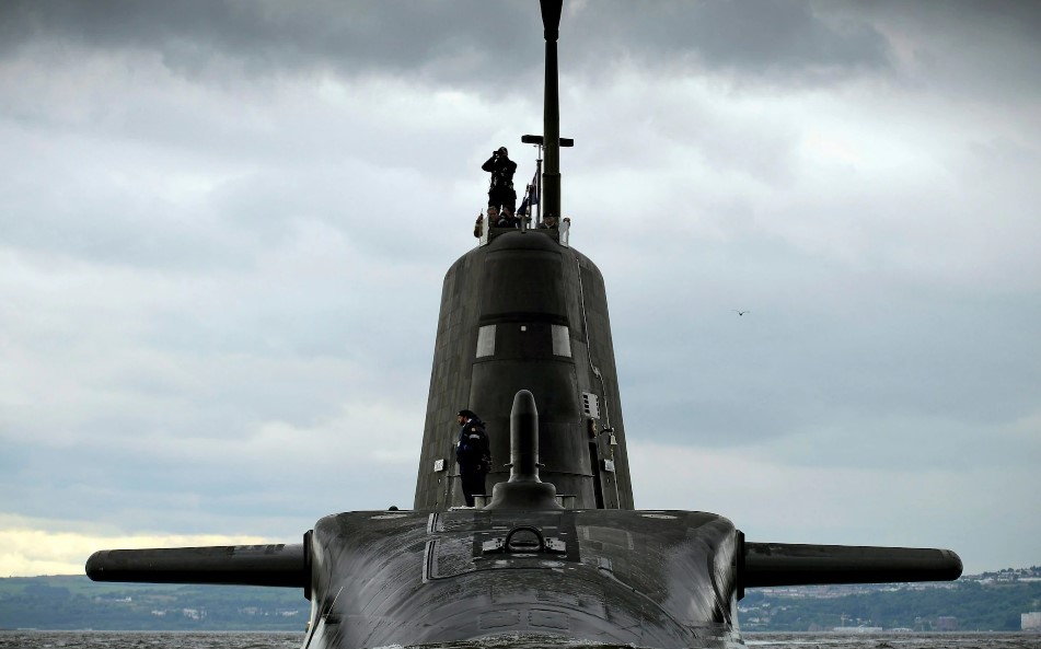 British Nuclear Submarine Failed To Track Russians In North Sea Because Of Cocaine Incident