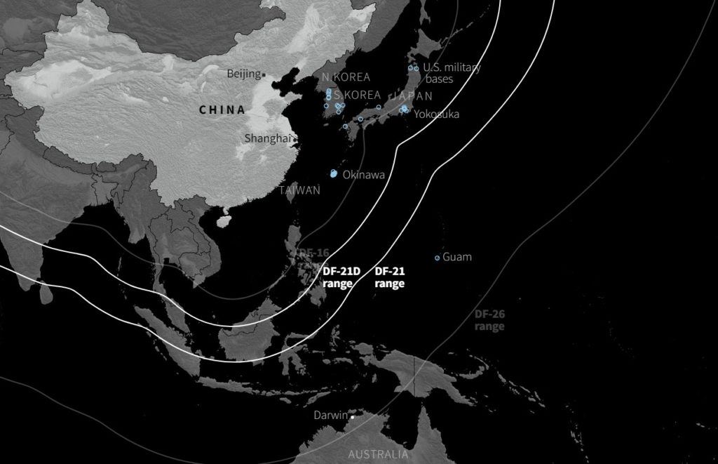 Chinese Missile Capabilities Put US On Back Foot: Reuters 'Investigation' Claims