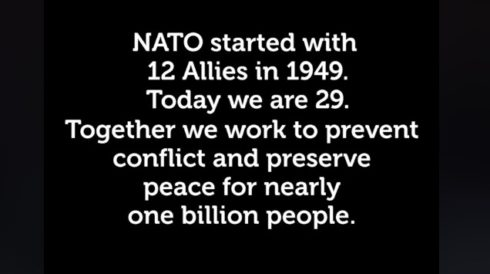 """NATO Releases Propaganda Video Claiming It Acts To """"Preserve Peace"""""""