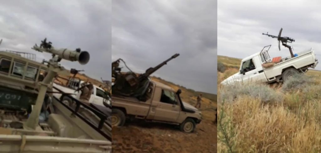 ISIS Releases Photo Report Showcasing Recent Attacks On Syrian Army In Homs Desert