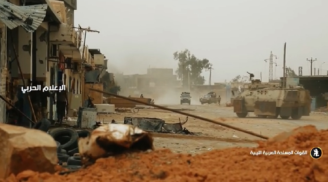Etleboro org - Combat Footage: Libyan National Army Continues Its