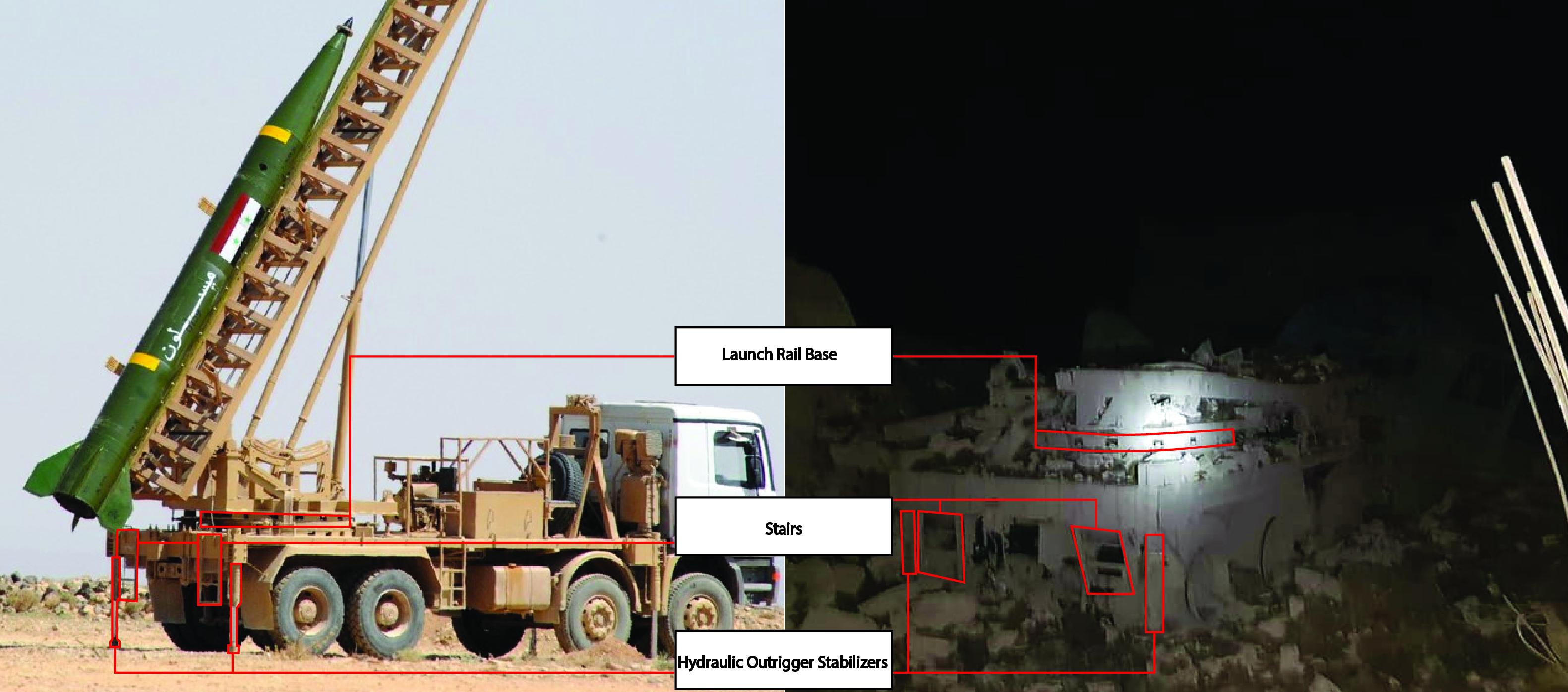Israeli Airstrike On Northern Hama Destroyed Syrian Long-Range Rocket Launcher