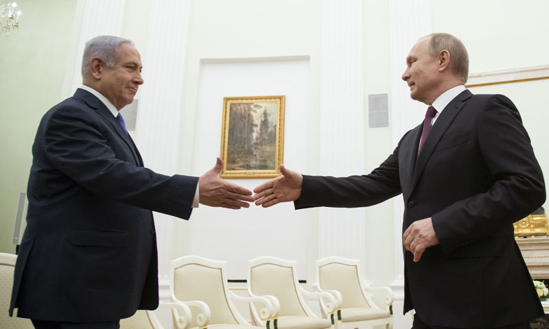 Putin and Netanyahu Agenda - 4 Years In The Making