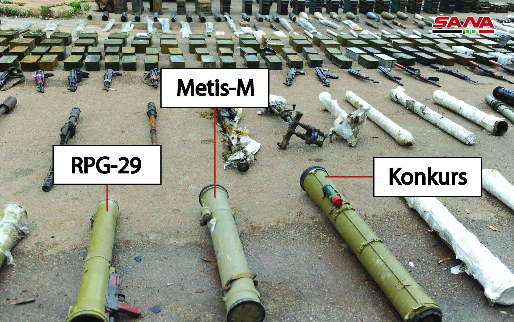 Syrian Army Uncovers Guided Missiles And Other Weapons In Western Daraa (Video, Photos)