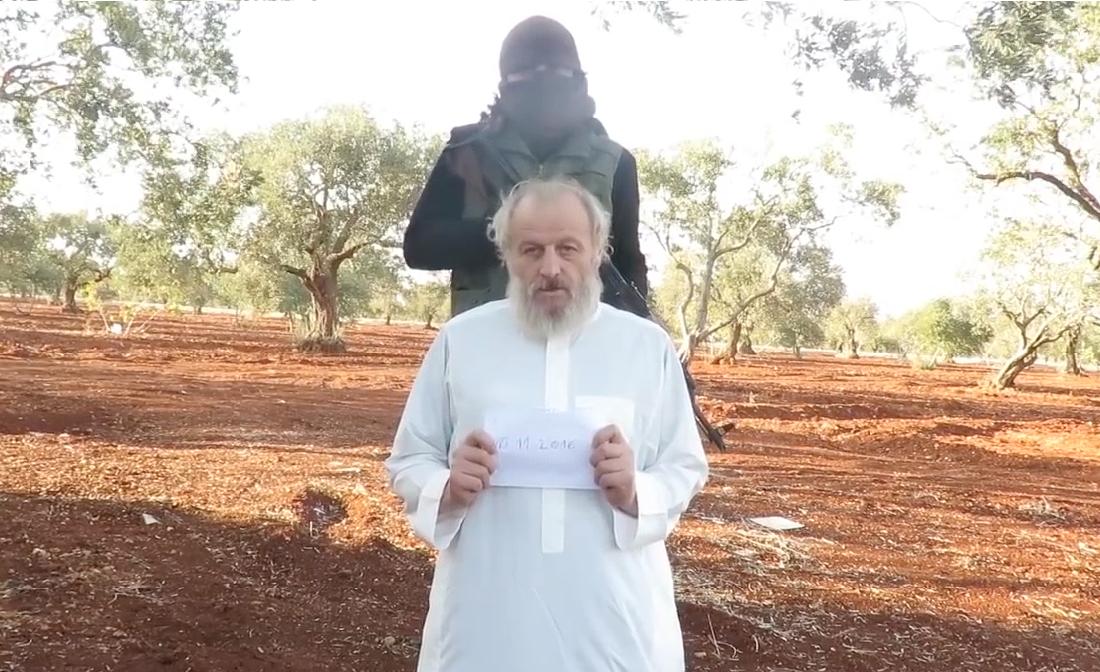 Idlib Terrorists Release Italian Hostage