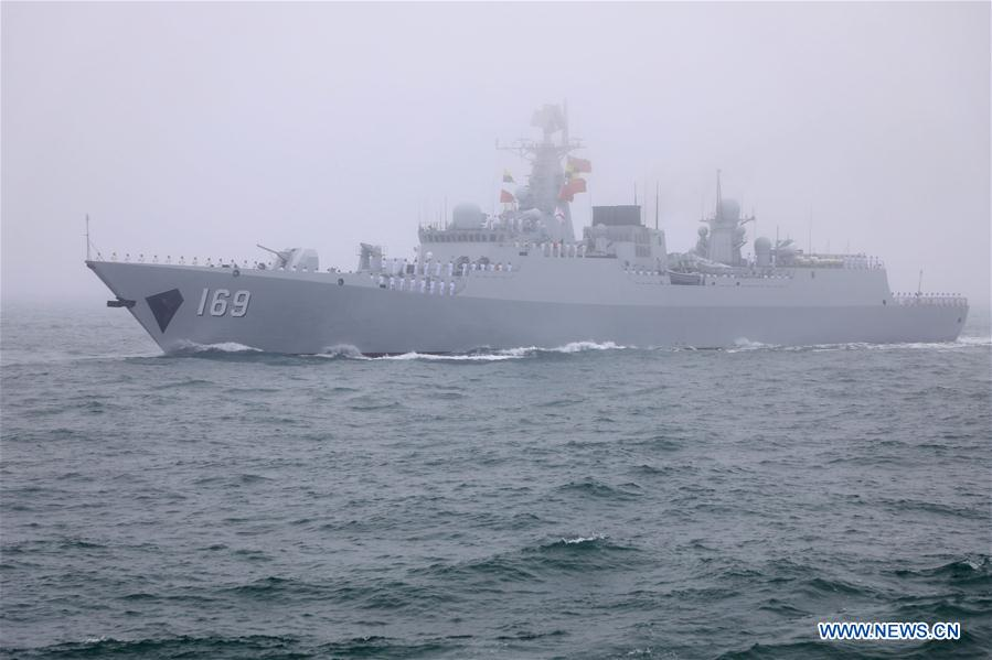 China Boasts Maritime Strength In PLA Navy's 70th Anniversary Parade (Videos, Photos)