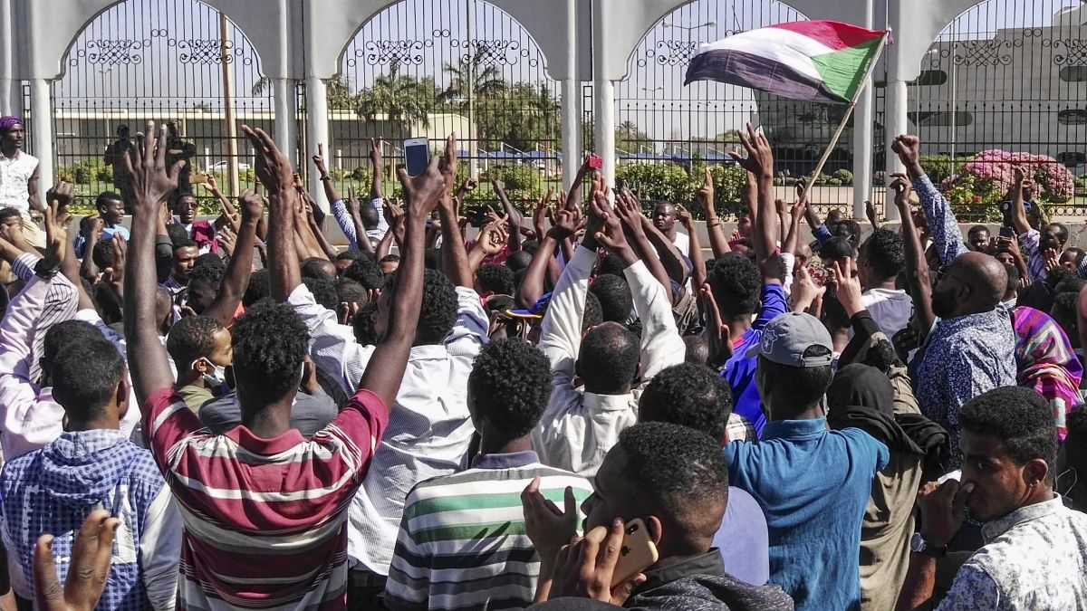 Protests In Sudan Enter Their 4th Month As Military Uses Live Rounds Against Demonstrators