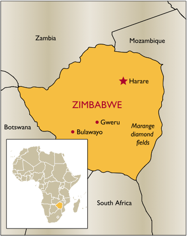 Chinese Elite Special Forces To Protect Underground Military Base In Zimbabwe: Report