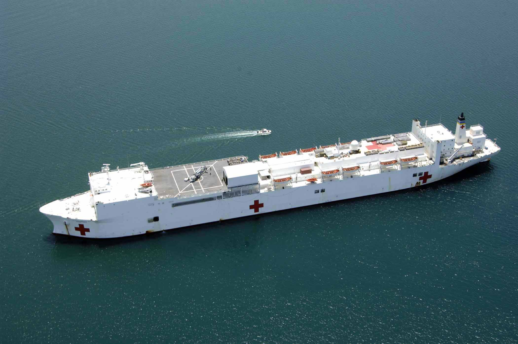 US Lifts Sanctions From Ex-Venezuelan Intelligence Chief For Turning On Maduro, Announces Deployment Of Hospital Ship