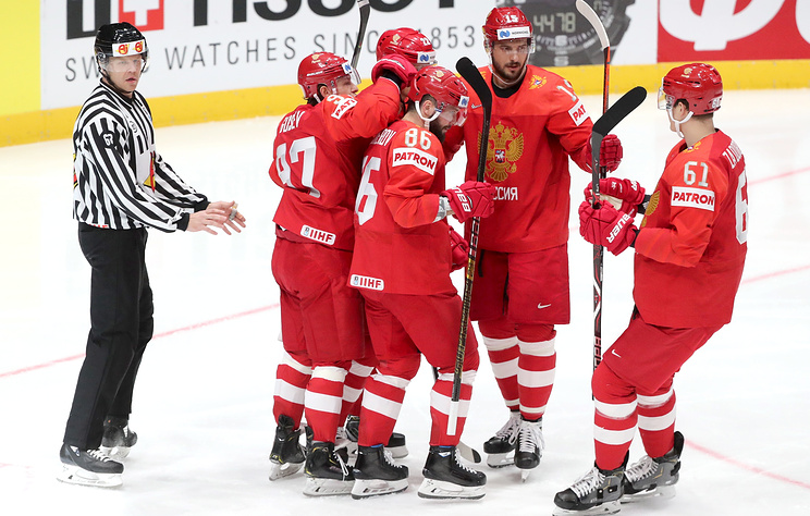 Russia Enters Play-Off Of International Ice Hockey Federation World Championship Amid Smearing Campaign In Media
