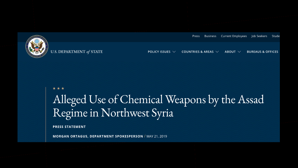 "Caitlin Johnstone: ""US Accuses Syria Of More Chemical Attacks Just As Chemical Weapons Narrative Crumbles"""