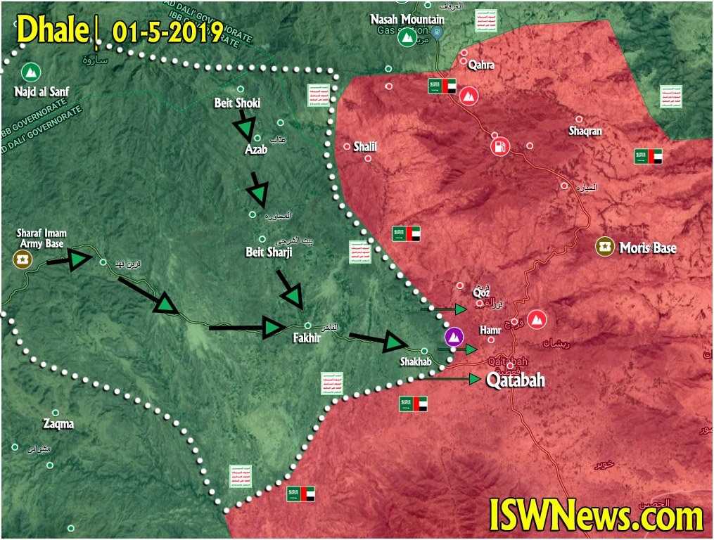 Ansar Allah Regained More Ground From Saudi-led Forces In Its Push To Recapture Yemen's Qatabah (Map Update)