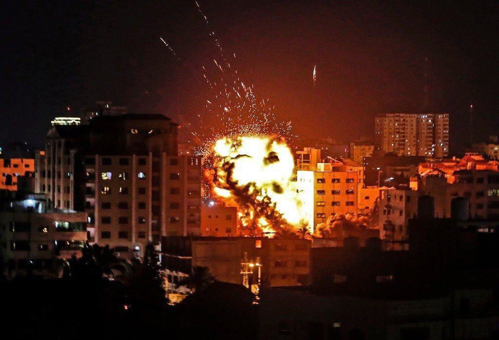Netanyahu Orders IDF To Strengthen Forces, Continue 'Massive Strikes' On Gaza