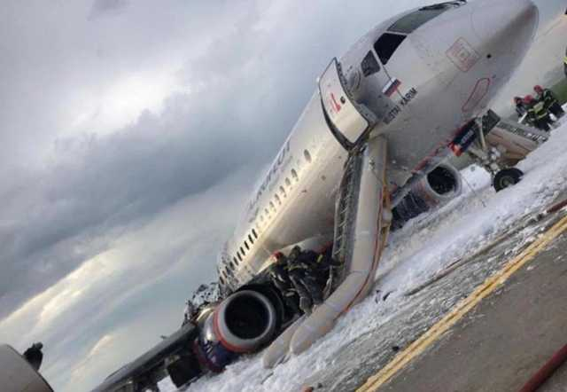 May 5 Tragedy with Superjet-100 in Moscow (Possible Reasons, Consequences of Passengers' Behavior)
