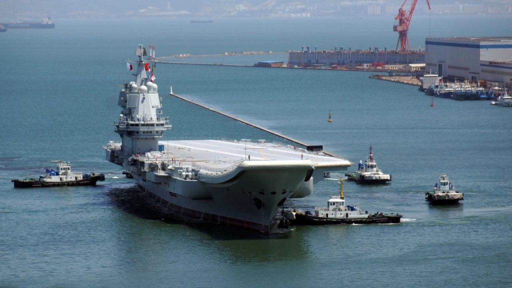 China's Third Aircraft Carrier Revealed In New Satellite Images