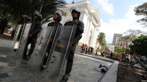 "Wayne Madsen: ""Trump's Encircling of Venezuela: A Fool's Errand"""