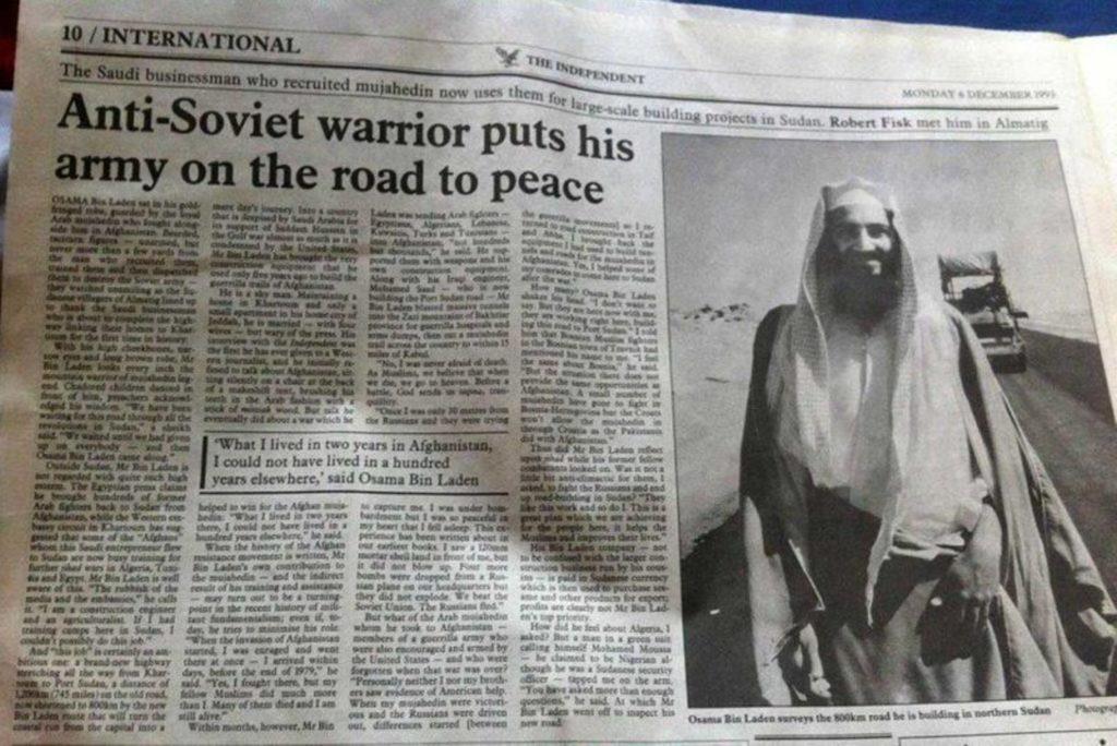 Afghanistan, the Forgotten Proxy War. The Role of Osama bin Laden and Zbigniew Brzezinski