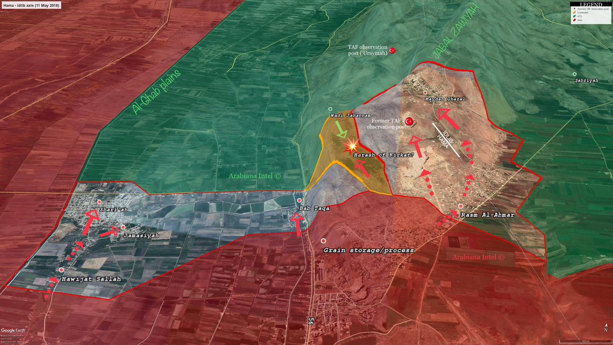 Map Update: Syrian Army Makes Large Gains In Northwestern Hama
