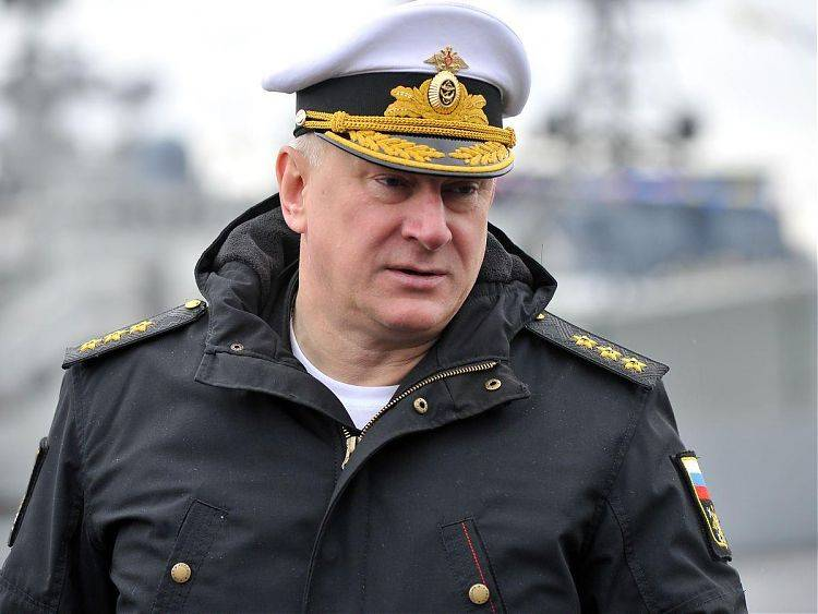 Russian Navy Gets New Commander-in-Chief