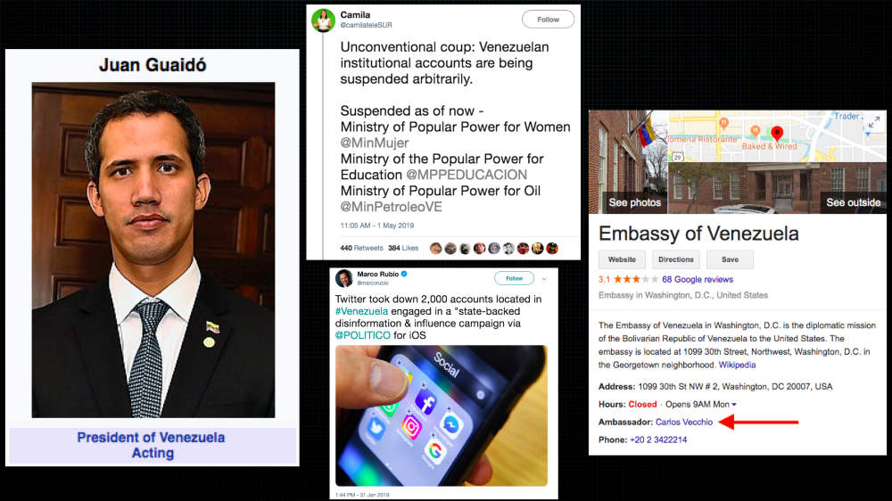 """Caitlin Johnstone: """"Silicon Valley Giants Collaborate With The US Government On Venezuela"""""""