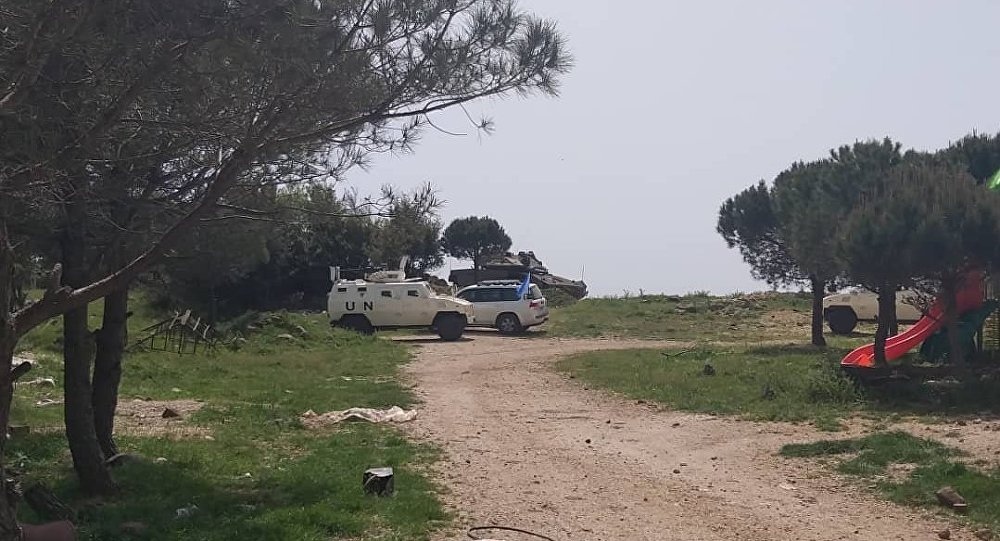 Israeli Tank Violated Demilitarized Zone In Southern Syria To Hide Traces Of Support For Rebels (Photos)
