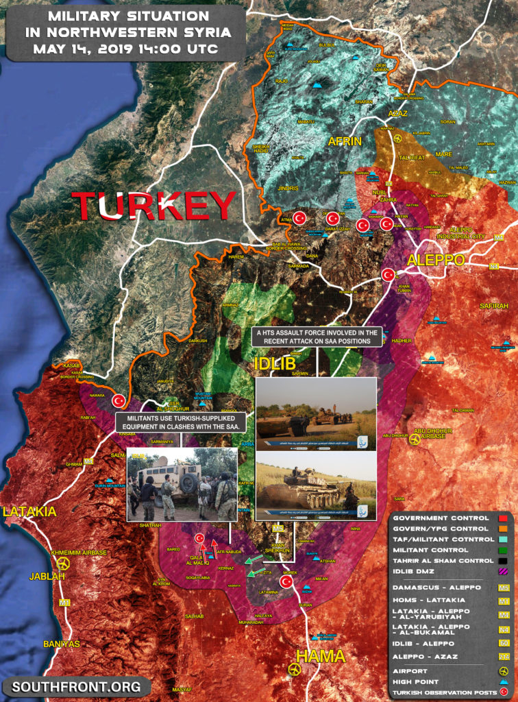 Government Forces Make Fresh Gains In Northwestern Hama (Map)