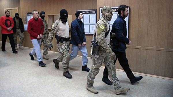International Tribunal Claims Russia Should Release Ukrainian Sailors Detained During Kerch Strait Incident