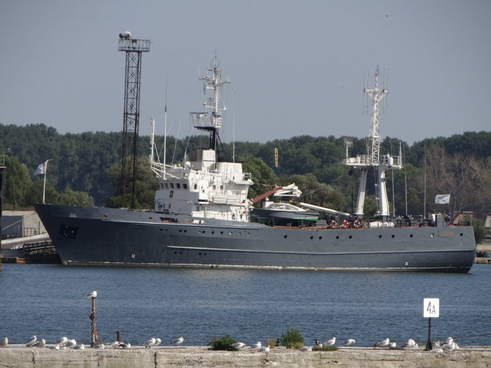Current State Of Russian Navy's Intelligence Ships