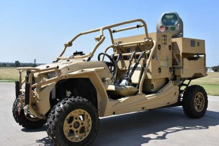 Raytheon Shoots Down Multiple Drones With Directed Laser Weapon