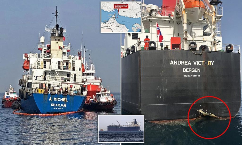 US Accuses Iran Of Attack On Saudi Tankers