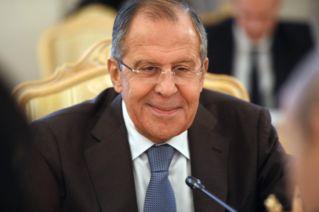 Lavrov: Nord Stream 2 Will Be Completed In A Few Days