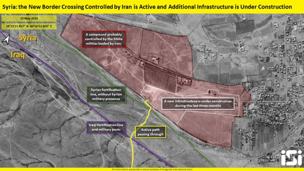 Satellite Images Show Iran Conducts Construction Works At Syrian-Iraqi Border