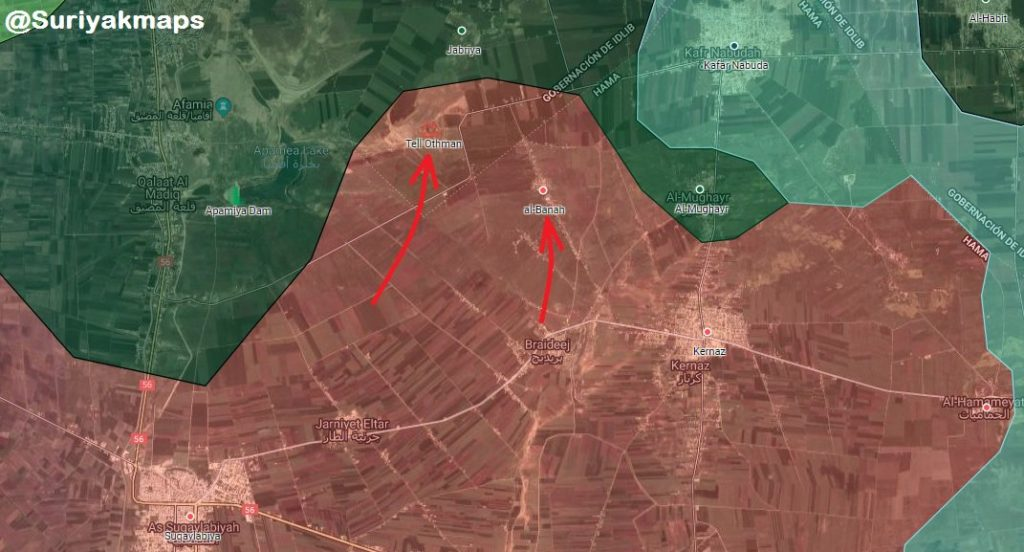 Militant Counter-Attacks In Northwestern Hama Turned Into Failure. Syrian Army Kept Liberated Positions (Maps)